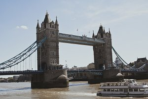 London Bridge with Boat