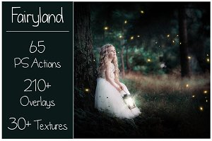 Fairy Bundle 200+ Actions&Overlays