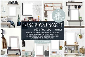 Frame & Wall Mock Up Vol 1