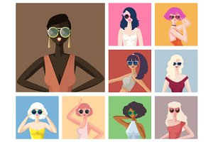 Sunglasses Girls Collection