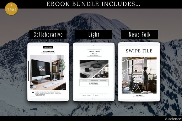 7x mini ebook bundle 67 off magazine templates creative market fandeluxe Choice Image