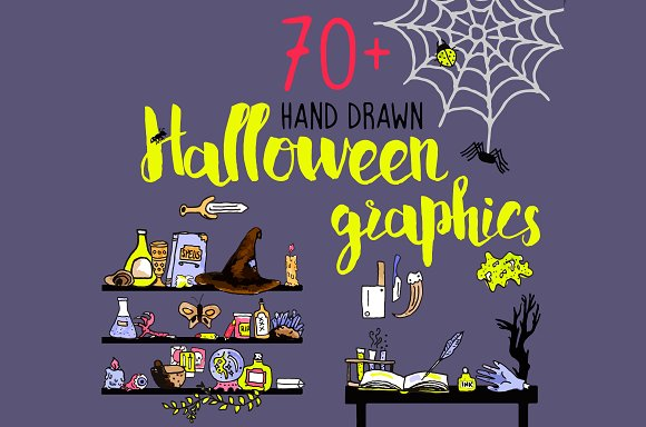 Spooky Halloween Illustrations