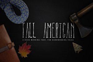 Tall American Font
