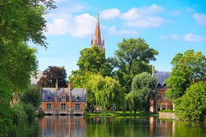 Cityscape of Bruges