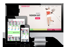 Fashion Cast - WooCommerce  theme