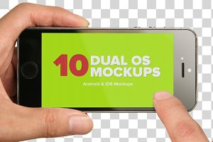 10 iOS and Android Mockups