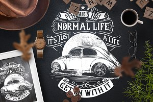 There's No Normal Life