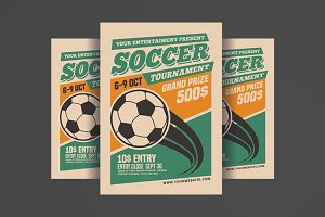 Soccer Tournament Flyer