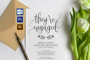 Engagement Party Invitation Wpc222