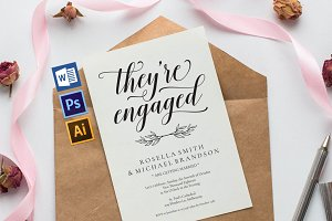 Engagement Party Invitation Wpc224