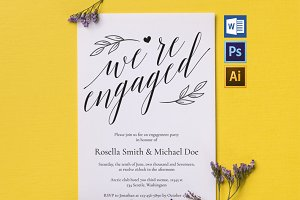 Engagement Party Invitation Wpc225