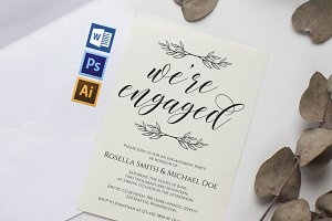 Engagement Party Invitation Wpc227