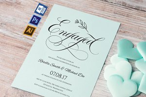 Engagement Party Invitation Wpc228