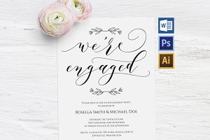 Engagement Party Invitation Wpc230