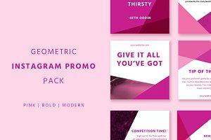 Geometric Instagram Promo Pack