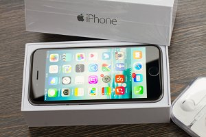 box with apple iphone 6