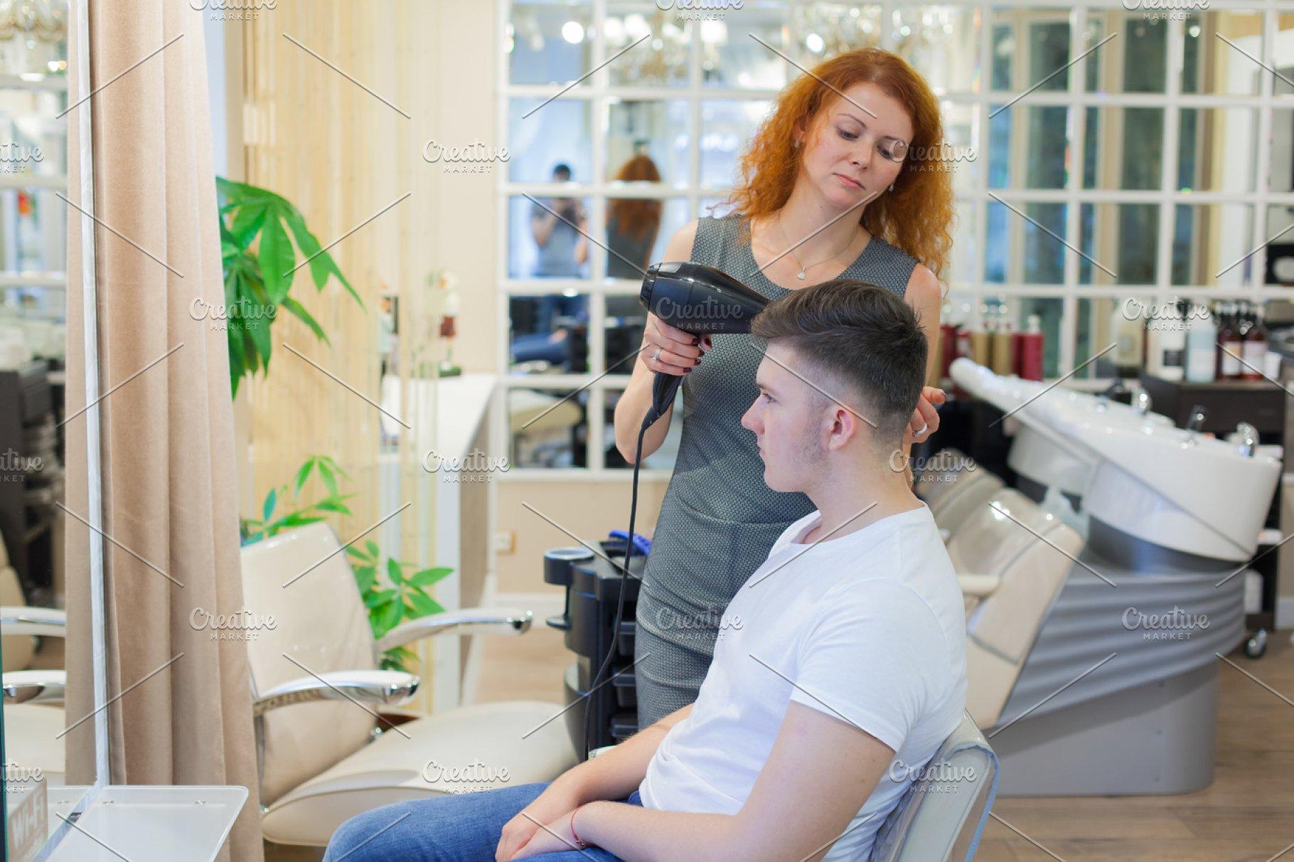 Getting A Haircut 86
