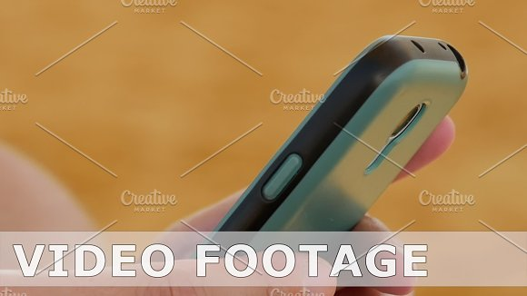 Female Hand With Smartphone Closeup