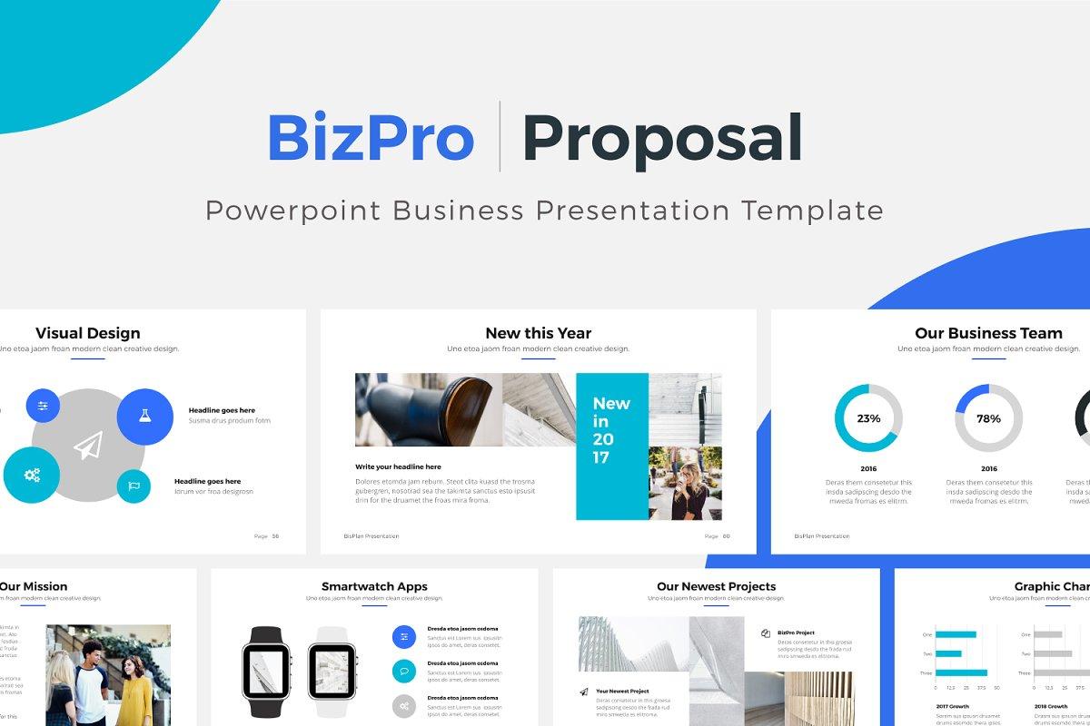 BizPro  Powerpoint Business Template ~ PowerPoint Templates