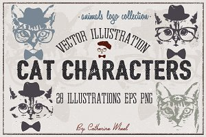 Vector Cat Illustrations