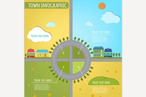 Town Infographic