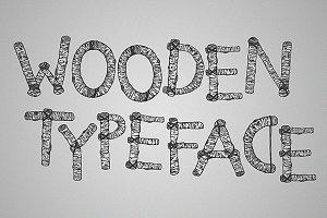 Limber Limb – a wooden typeface
