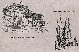 Spain Monuments