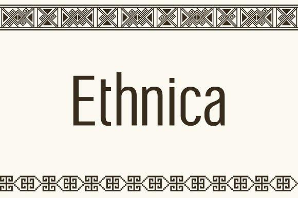 Symbol Font Ethnica