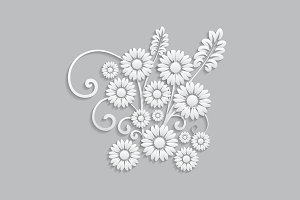 Flowers and floral elements