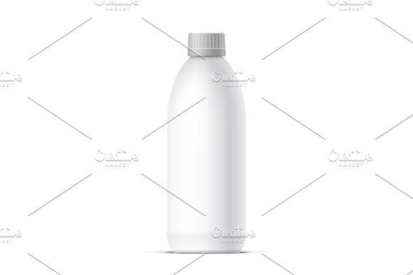 Blank Realistic Bottle