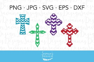 Chevron Crosses