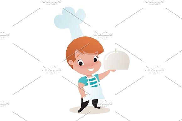 Little Child Boy Illustration