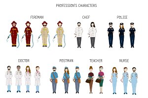 Profession's Characters
