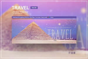 Travel - Facebook Timeline Cover 02