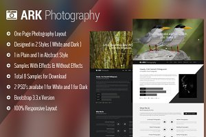Ark Photography Responsive Template