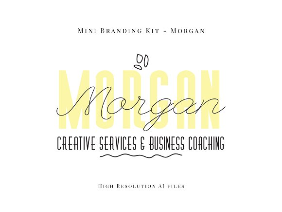 Morgan Mini Branding Kit