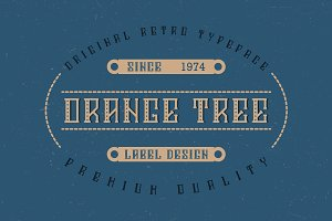 Orange Tree Typeface