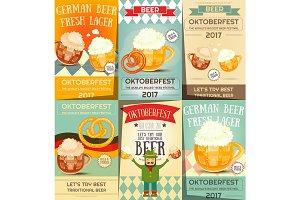 Oktoberfest Beer Festival Posters