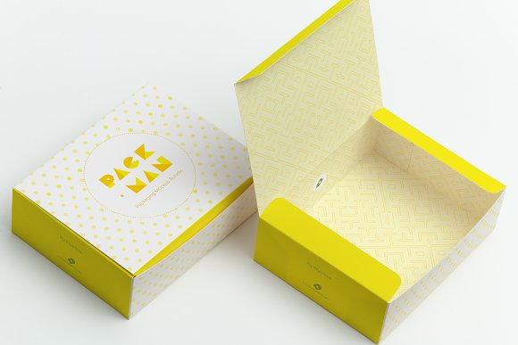 Sweet Box Mockup 06-Graphicriver中文最全的素材分享平台