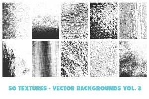 50 Vector Texture Backgrounds Vol. 3