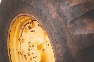 Old Tractor Tire 2