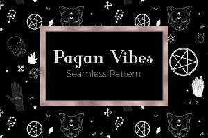 Pagan Vibes Hand-drawn Pattern