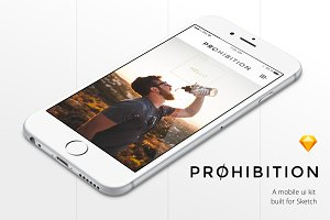 Prohibition Mobile UI Kit