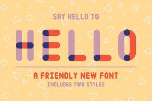 Hello - Font