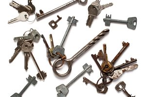 set of different keys