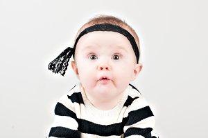 Cheeky Baby Girl