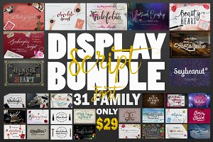 98% Off - Script Display Bundle