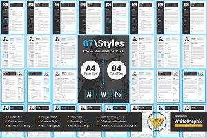 07Styles Clean Resume Pack