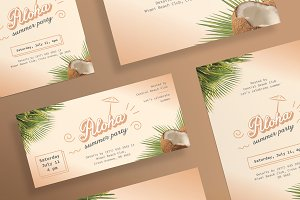 Flyers | Aloha Summer Party