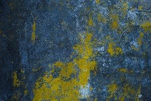 dark blue texture of old plaster